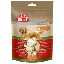 8 in 1 Delights S косточка для чистки зубов 7,5 см для собак мелких пород 6 шт.
