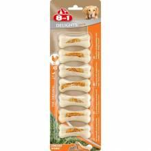 8 in 1 Delights XS Strong косточка с курицей сверхпрочные для мелких собак 7 шт.