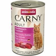 Animonda Консервы Carny Adult мясной коктейль - 400 гр х 6 шт