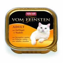 Animonda Консервы Vom Feinsten Adult с мясом домашней птицы и пастой для взрослых кошек - 100 гр х 32 шт