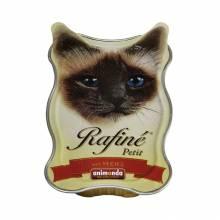 Animonda Консервы Rafine Petit с сердцем для взрослых кошек - 85 гр х 18 шт