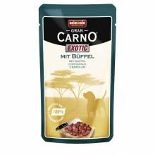 Animonda Gran Carno Exotic/ Гран Карно Экзотик с мясом буйвола для собак - 125 гр х 16 шт.