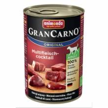 Консервы Animonda Gran Carno Original Adult мясной коктейль для взрослых собак - 400 гр х 6 шт