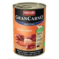 Консервы Animonda Gran Carno Original Adult с говядиной и курицей для взрослых собак - 400 гр х 6 шт