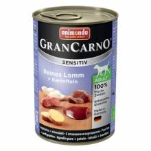Animonda GranCarno Sensitiv / Анимонда Гран Карно Сенситив с ягненком и картофелем для чувствительных собак - 400 гр х 6 шт