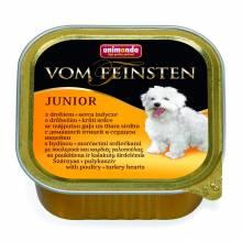 Animonda Vom Feinsten Junior / Анимонда Вомфейнштейн Юниор с мясом домашней птицы и сердцем индейки - 150 гр х 22 шт