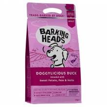 Barking Heads Doggylicious Duck сухой беззерновой корм для взрослых собак с уткой и бататом - 2 кг