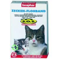 Beaphar SOS Flea and Tick Collar от блох и клещей для кошек старше 3 месяцев