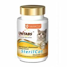 Unitabs SterilCat с Q10 для кошек - 120 таб
