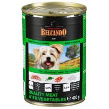 Belcando Super Premium консервы для собак отборное мясо с овощами - 800 гр х 12 шт (400 гр х 24 шт)