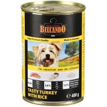 Belcando Super Premium консервы для собак индейка с рисом - 800 гр х 12 шт (400 гр х 24 шт)