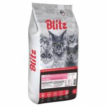 Blitz Adult Cats Lamb сухой корм для взрослых кошек с ягненком - 10 кг