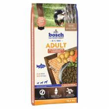 Bosch Adult cухой корм для взрослых собак с нормальным уровнем активности с лососем и картофелем 1 кг (3 кг) (15 кг)