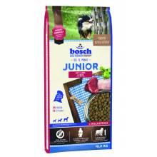 Bosch Junior Lamb & Rice - сухой корм для щенков всех пород с чувствительным пищеварением 1 кг (3 кг) (15 кг)