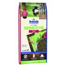 Bosch Sensitive Lamb & Rice гипоаллергенный корм с ягненком и рисом для взрослых собак с чувствительным пищеварением 3 кг (15 кг)