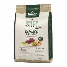 Полувлажный корм Bosch Soft Mini для собак мелких пород с косулей и картофелем - 1 кг (2,5 кг)