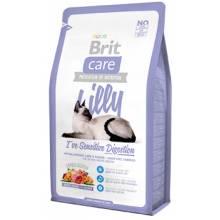 Brit Care Cat Lilly Sensitive Digestion беззерновой корм, для кошек с чувствительным пищеварением 2 кг (7 кг)