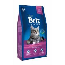 Brit Premium Cat Light cухой корм для кошек склонных к излишнему весу 1,5 кг (8 кг)