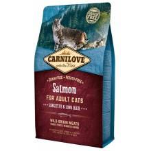 CarniLove с лососем сухой корм для взрослых кошек - 2 кг (6 кг)