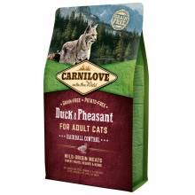 CarniLove с мясом утки и фазана сухой корм для взрослых кошек - 2 кг (6 кг)
