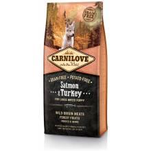 Carnilove «Лосось и индейка» сухой корм для щенков крупных пород 1,5 кг (12 кг)