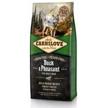Carnilove «Утка и фазан» сухой корм для взрослых собак всех пород - 1,5 кг (12 кг)