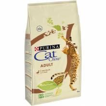 Purina Cat Chow Adult Duck сухой корм с уткой для взрослых кошек и котов всех пород 1,5 кг (15 кг)