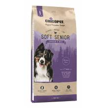Chicopee CNL Soft Senior Chicken & Rice полувлажный корм для пожилых собак всех пород с курицей и рисом 2 кг (15 кг)