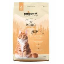 Chicopee CNL Cat Adult Indoor сухой корм для домашних кошек с говядиной - 1,5 кг (15 кг)