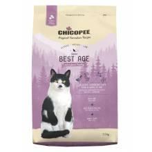 Chicopee CNL Cat Senior Best Age сухой корм для пожилых кошек с птицей - 1,5 кг (15 кг)
