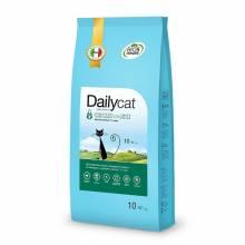 Dailycat Adult Hairball Chicken and Rice сухой корм для взрослых кошек для вывода шерсти из желудка с курицей и рисом 1,5 кг (3 кг), (10 кг)