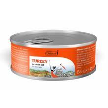 Dailycat casual Консервы для кошек мясной мусс индейка - 85 гр х 24 шт