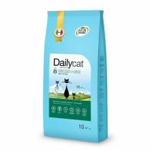 Dailycat Kitten Chicken and Rice сухой корм для котят и беременных или кормящих взрослых кошек с курицей и рисом 10 кг (3 кг) (1,5 кг) (400 гр)