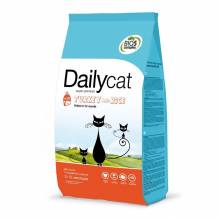 Dailycat Kitten Turkey and Rice сухой корм для котят, беременных и лактирующих кошек с индейкой 3 кг (10 кг)