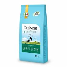 DailyCat ADULT Steri Lite Chicken & Rice сухой корм для стерилизованных кошек с курицей и рисом -  0,4 кг (1,5 кг) (3 кг) (10 кг)