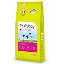 DailyDog Adult Small Breed Lamb and Rice сухой корм для взрослых собак мелких пород с ягненком и рисом 1,5 кг (3 кг) (12 кг)