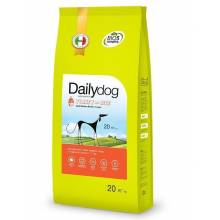 DailyDog Adult Medium Breed Turkey and Rice сухой корм для взрослых собак средних пород с индейкой и рисом 3 кг (12 кг) (20 кг)