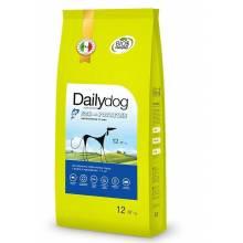 Dailydog Adult Small Breed Fish and Potatoes сухой корм для взрослых собак мелких и миниатюрных пород с рыбой и картофелем 1,5 кг (3 кг) (12 кг)
