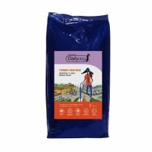 Dailydog Casual Dog Adult Medium Turkey and Rice сухой корм для взрослых собак средних пород с индейкой и рисом - 3 кг (12 кг) (20 кг)