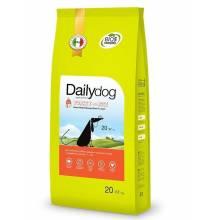 Dailydog Senior Medium & Large Breed сухой корм для пожилых собак средних и крупных пород с индейкой и рисом - 3 кг (12 кг) (20 кг)