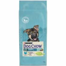 Dog Chow Puppy & Junior Large Breed для щенков крупных пород с индейкой 14 кг