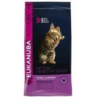 Eukanuba Cat Kitten корм для котят с курицей и печенью 5 кг
