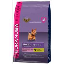 Eukanuba Puppy Small Breed корм для щенков мелких пород с курицей 3 кг (10 кг)