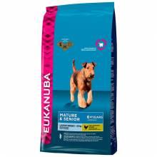 Eukanuba Mature & Senior Large Breed сухой корм для пожилых собак крупных пород с курицей 4 кг (15 кг)