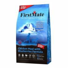 FirstMate Chicken Meal With Blueberries Small Bites сухой беззерновой корм для взрослых собак мелких пород с курицей и голубикой 2,3 кг (6,6 кг)