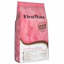 FirstMate Cat & Kitten сухой низкозерновой корм для котят и взрослых кошек 2,3 кг (6 кг)