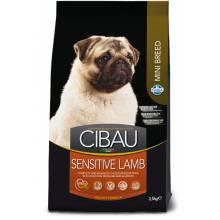 Farmina Cibau Sensitive сухой корм для взрослых собак мелких пород с чувствительным пищеварением с ягненком 800 гр (2,5 кг)