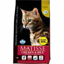 Farmina Matisse Chicken & Rice сухой корм для взрослых кошек с курицей и рисом 10 кг (20 кг)