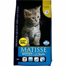 Farmina Matisse Kitten (1-12 месяцев) с курицей - полнорационный сухой корм для котят, беременных и кормящих кошек 1,5 кг (10 кг)