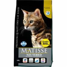 Farmina Matisse Neutered сухой корм для взрослых стерилизованных кошек и кастрированных котов 1,5 кг (10 кг) (20 кг)